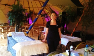 Therapist Caroline Cunningham of Authentic Reflexology