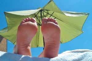 Authentic Reflexology In The Sun